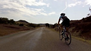 Quiet cycle routes near Lac Salagou, Languedoc