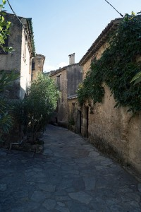 Charming Narrow Street in St. Guilhem le Desert, Languedoc