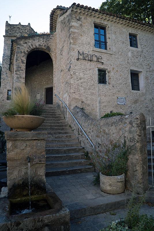 La Marie (Town Hall) St. Guilhem le Desert, Languedoc