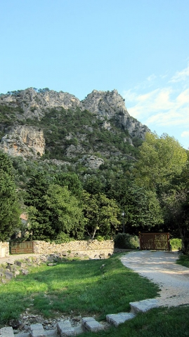Walking Trail at St. Guilhem le Desert, Languedoc