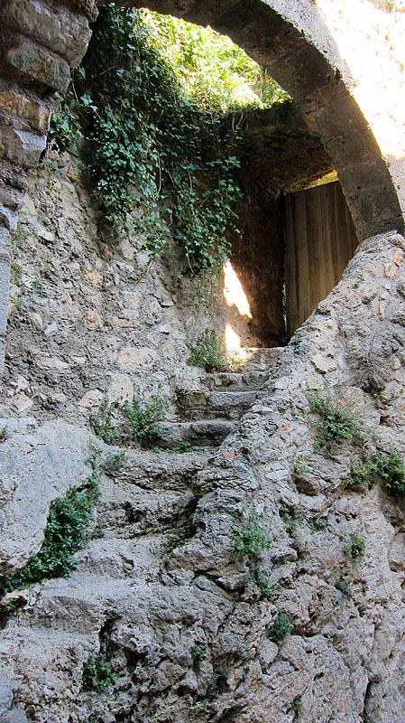 Rustic Stairway, St. Guilhem le Desert, Languedoc