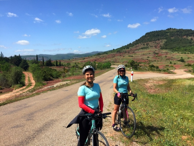 Road Cycling at Lac Salagou, Languedoc