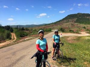 Road Cycling at Lac Salagou, Languedoc
