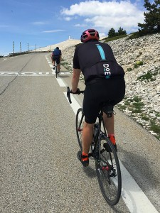 Cycling Mt. Ventoux: Bedoin ascent