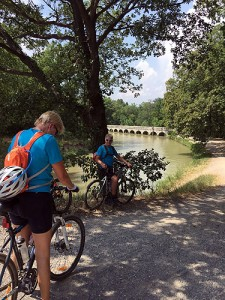 Day 1: On the Canal Midi du between Carcassonne and Homps