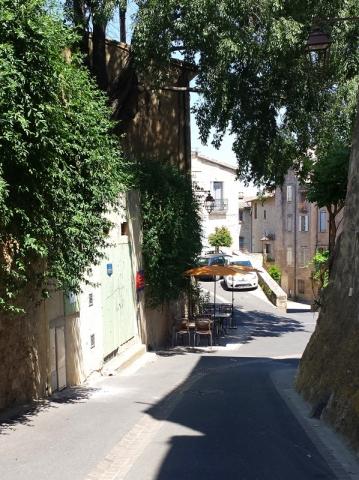 Street cafe, Pezenas, Languedoc