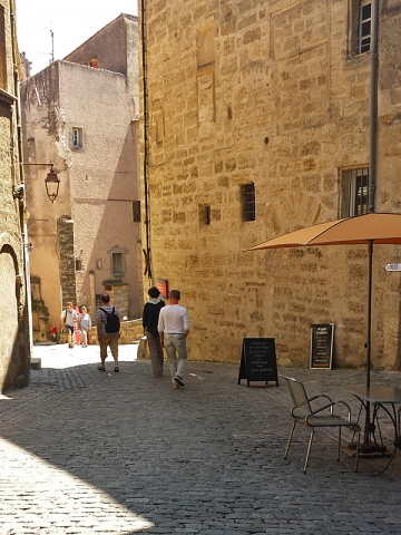 Exploring the Streets of Medieval Pezenas on a Rest Day