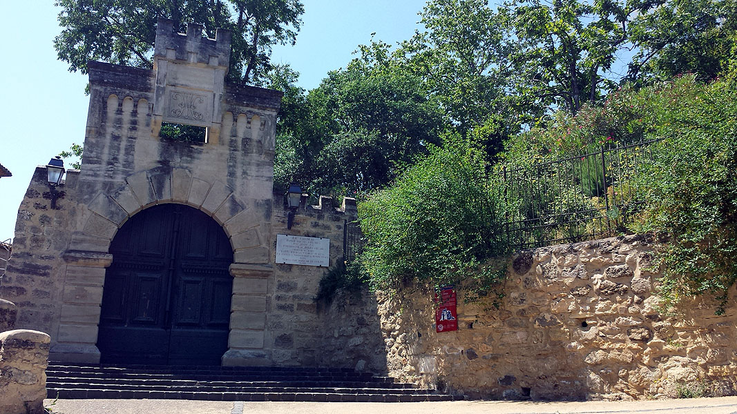 Chateau ruin in Pezenas, Languedoc