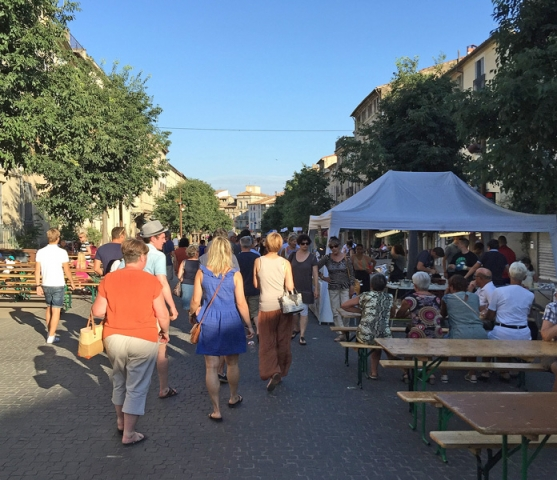 Estivales Wine Festival, Pezenas, Languedoc