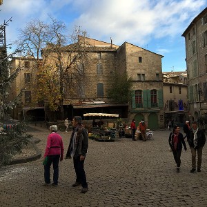 Place Gambetta, Pezenas, Languedoc