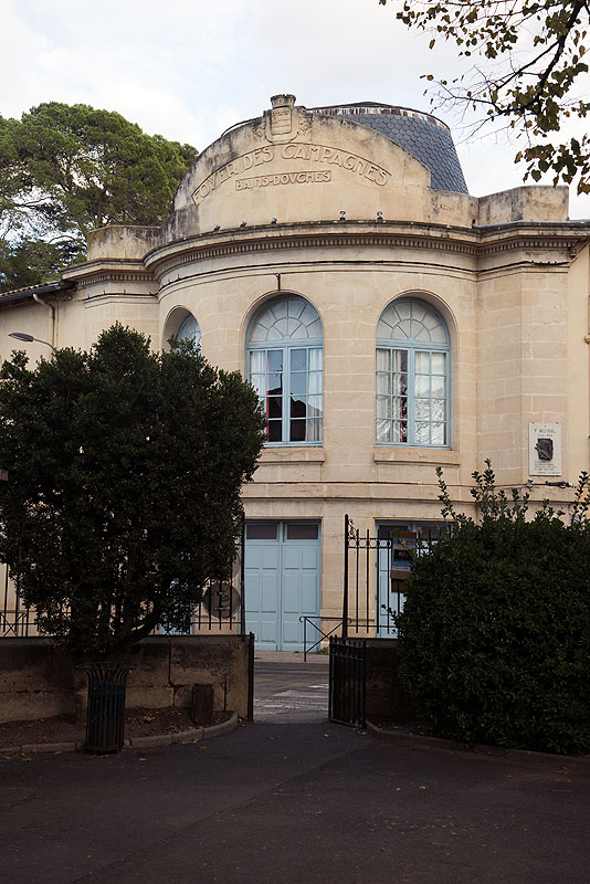 Historic Baths - Pezenas, Languedoc