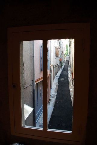 View from our window: Pezenas Languedoc