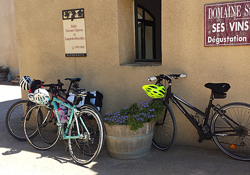 Cycling in the Dordogne
