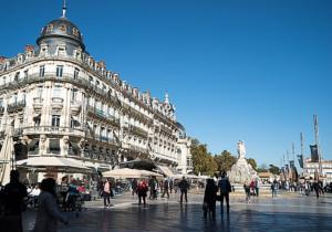 Place de la Comedie, Montpellier, Languedoc