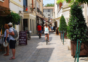 Cycling in Aigues Mortes, Languedoc