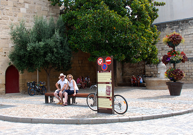 Aigues Mortes, Languedoc: Taking a Break from Cycling