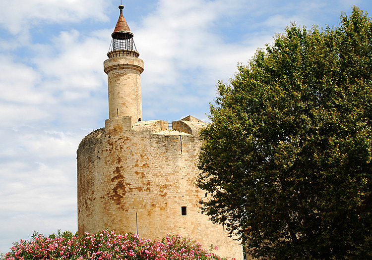 Tower in Aigues Mortes, Languedoc