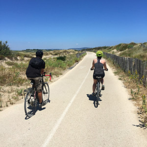 Cycling along the Med, Languedoc