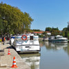 Capestang, Languedoc on the Canal de Midi