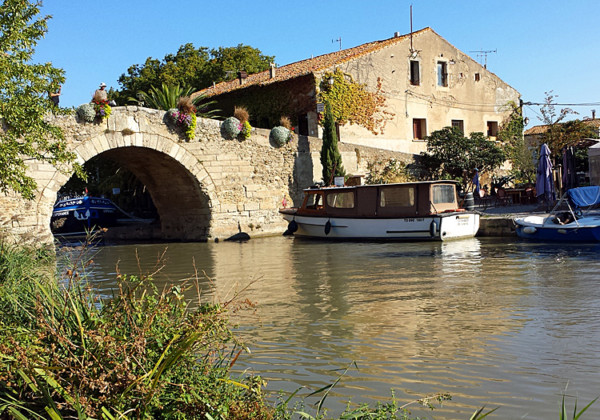 Le Somail on the Canal de Midi, Languedoc