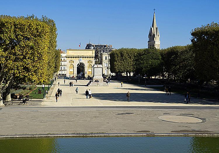 Porte de Peyrou: Montpellier, Languedoc