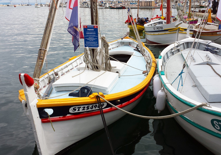 Traditional Fishing Boats in Sete, Languedoc